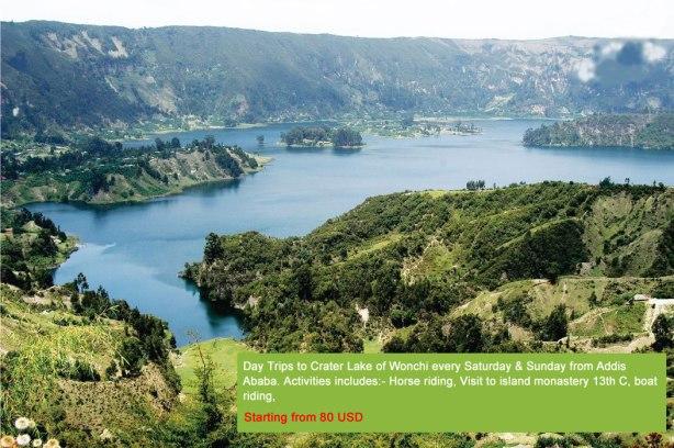 Crater Lake of Wonchi